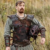 Субкультуры handmade. Livemaster - original item Viking leather armor set. Handmade.