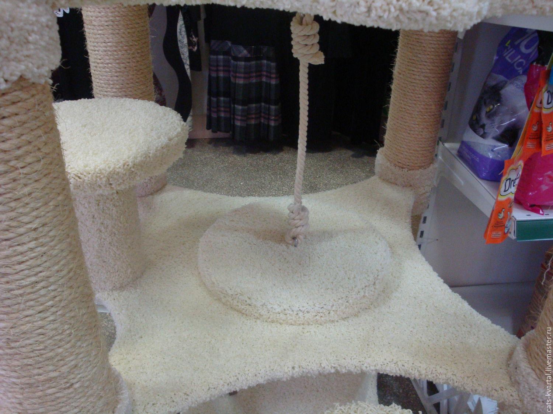 Дерево домик для кошки