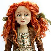 Куклы и игрушки handmade. Livemaster - original item Aglaya. Doll collector`s manual author`s work.. Handmade.