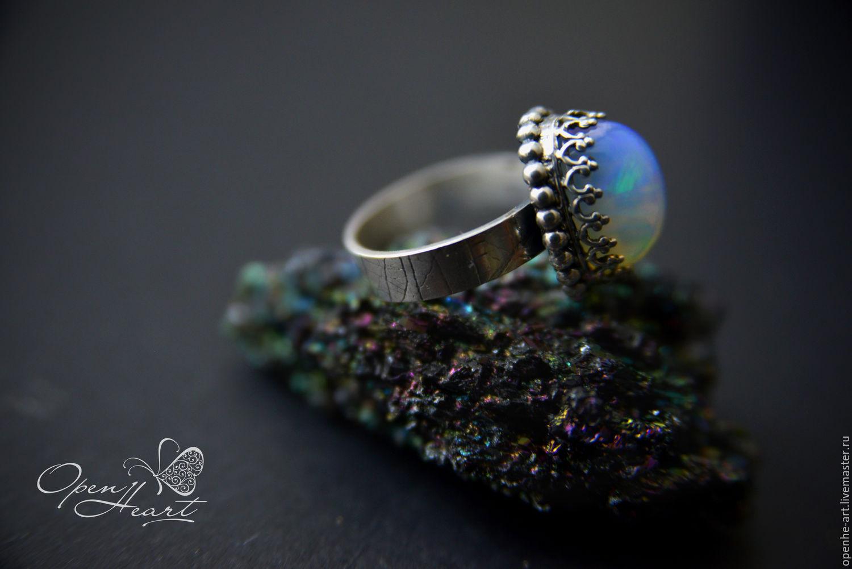 кольца с опалом  цена
