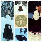 Одежда ручной работы. Ярмарка Мастеров - ручная работа Кашемировая юбка-солнце. Handmade.
