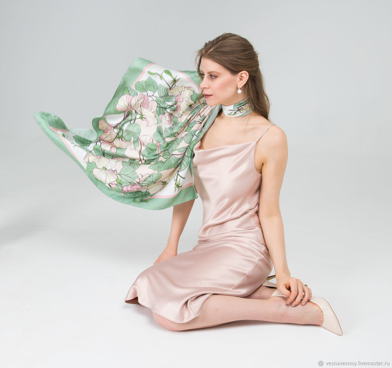 Handkerchief #devochkaavesna, Shawls1, Moscow,  Фото №1