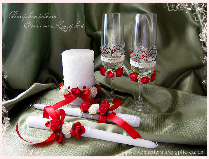 Изготовление свадебных аксессуаров своими руками фото 961