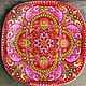 Order Decorative plate 'Russian soul' hand painted. Art by Tanya Shest. Livemaster. . Plates Фото №3