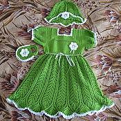 Работы для детей, ручной работы. Ярмарка Мастеров - ручная работа Комплект для маленькой леди. Handmade.