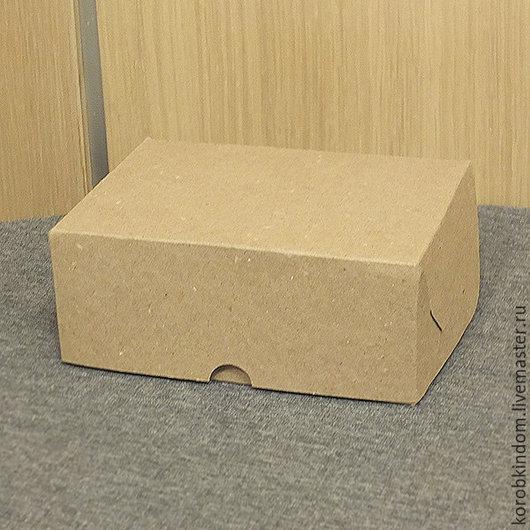 Упаковка ручной работы. Ярмарка Мастеров - ручная работа. Купить Коробочка 15х11х6 см крафт. Handmade. Коробочка, коробка подарочная