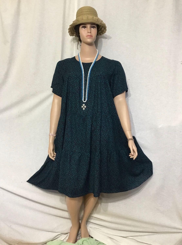-50% Платье штапельное большого размера Бирюза, Платья, Санкт-Петербург,  Фото №1