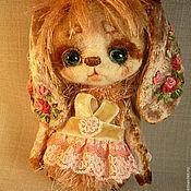 Куклы и игрушки ручной работы. Ярмарка Мастеров - ручная работа зайка Василиса. Handmade.