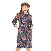 Одежда ручной работы. Ярмарка Мастеров - ручная работа Изысканное платье  изумрудного  цвета, размер только 46. Handmade.