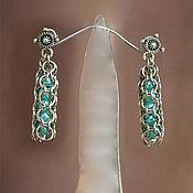 "Украшения handmade. Livemaster - original item Chain metal long earrings ""Set"". Handmade."