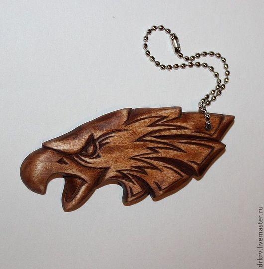 """Брелоки ручной работы. Ярмарка Мастеров - ручная работа. Купить Брелок """"Орел"""". Handmade. Коричневый, ручная работа, брелок из дерева"""