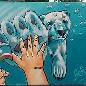 Картины и панно ручной работы. Ярмарка Мастеров - ручная работа Граффити. Handmade.