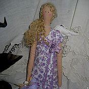 Куклы и игрушки ручной работы. Ярмарка Мастеров - ручная работа Тильда Лавандовый ангел Виола. Handmade.