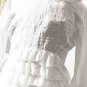 Одежда ручной работы. Ярмарка Мастеров - ручная работа Белый романтический вечер 46 48. Handmade.