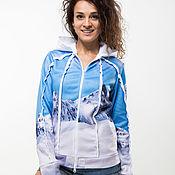 """Одежда handmade. Livemaster - original item Sweatshirt """"Snowy"""". Handmade."""