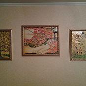 Картины и панно ручной работы. Ярмарка Мастеров - ручная работа по мотивам картин Климпта. Handmade.