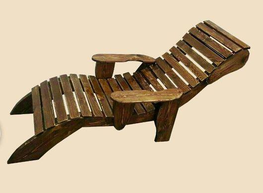 Мебель ручной работы. Ярмарка Мастеров - ручная работа. Купить Лежак деревянный. Handmade. Лежак, лежак деревянный
