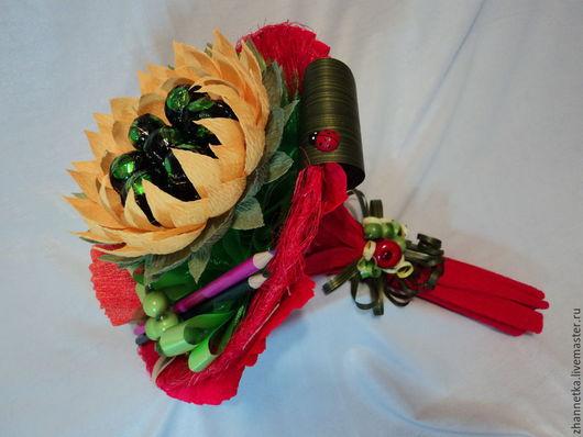 """Букеты ручной работы. Ярмарка Мастеров - ручная работа. Купить Букет """"Краски осени"""". Handmade. Разноцветный, сладкий подарок"""