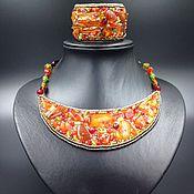 Украшения handmade. Livemaster - original item The Hryvnia Amber. Handmade.