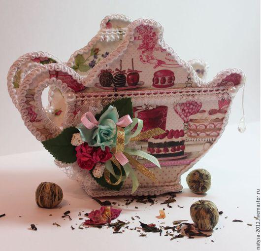Букеты ручной работы. Ярмарка Мастеров - ручная работа. Купить Чайный домик ( внутри чайные пакетики). Handmade. Чай