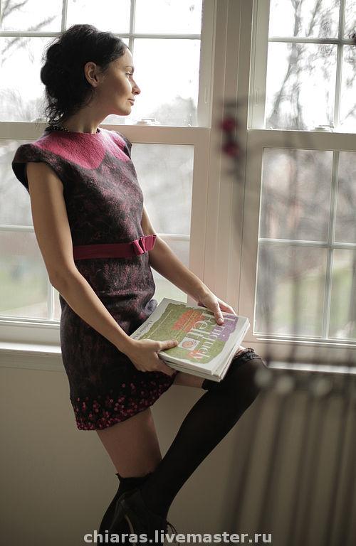 """Платья ручной работы. Ярмарка Мастеров - ручная работа. Купить платье ручной работы """"маленькое, почти черное платье"""". Handmade."""