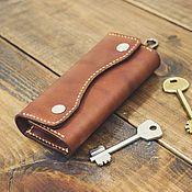 Housekeeper handmade. Livemaster - original item Housekeeper leather. Handmade.