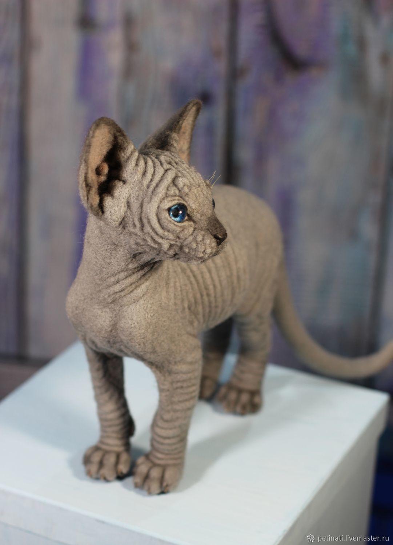Kitten Sphinx, Stuffed Toys, Moscow,  Фото №1