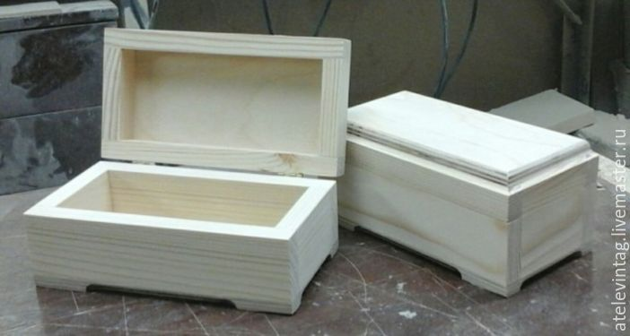 Box, storage 090, Blanks for decoupage and painting, Tula,  Фото №1