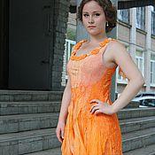 """Платье """"Оранжевое настроение"""""""
