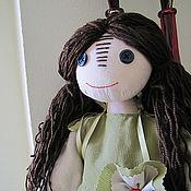 Куклы и игрушки ручной работы. Ярмарка Мастеров - ручная работа Чердачная, примитивная кукла Джейн. Handmade.