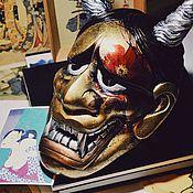 Для дома и интерьера ручной работы. Ярмарка Мастеров - ручная работа Интерьерная маска Ханья(gold). Handmade.