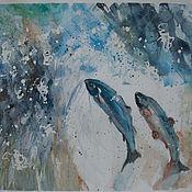 Картины и панно handmade. Livemaster - original item Watercolor