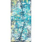 Картины и панно handmade. Livemaster - original item Abstract painting Rift Interior painting. Handmade.
