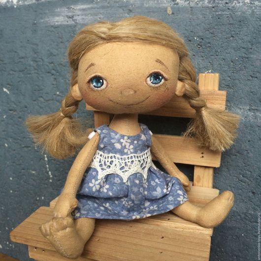 Ароматизированные куклы ручной работы. Ярмарка Мастеров - ручная работа. Купить Кнопочка. Handmade. Кукла ручной работы, бязь хлопок