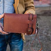 Сумки и аксессуары handmade. Livemaster - original item Men`s purse wallet KS. Handmade.