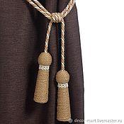 Материалы для творчества handmade. Livemaster - original item Tiebacks with lace. Handmade.