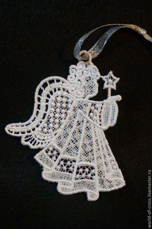 Подвески ручной работы. Ярмарка Мастеров - ручная работа. Купить Ангелочек ажурный. Handmade. Комбинированный, ангелочек, ангелы, ангелок