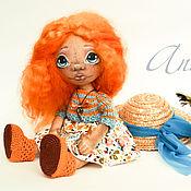 Куклы и игрушки ручной работы. Ярмарка Мастеров - ручная работа Интерьерная кукла тыквоголовка Ann. Handmade.