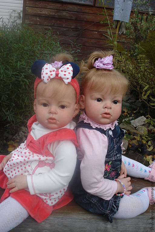 Куклы-младенцы и reborn ручной работы. Ярмарка Мастеров - ручная работа. Купить Куклы-реборн Сестрёнки. Handmade. Кукла реборн