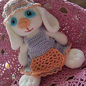 Куклы и игрушки ручной работы. Ярмарка Мастеров - ручная работа Зая- карманная игрушка. Handmade.