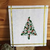 Картины и панно handmade. Livemaster - original item Embroidered picture of the Tree from the cats. Handmade.