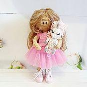 Мини фигурки и статуэтки ручной работы. Ярмарка Мастеров - ручная работа Кукла ручной работы. Handmade.