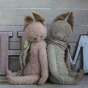 """Мишки Тедди ручной работы. Ярмарка Мастеров - ручная работа ВЫКРОЙКА  тедди """"Весенние зайчики"""". Зайчик тедди. Handmade."""
