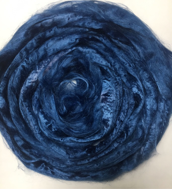 Viscose for felting Blue multicolor. 10 gr. Troitsk, Fabric, Berdsk,  Фото №1