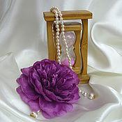 """Цветы и флористика ручной работы. Ярмарка Мастеров - ручная работа брошь """"Пион"""". Handmade."""