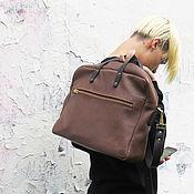Сумки и аксессуары handmade. Livemaster - original item Men`s bag genuine leather. Handmade.