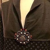 Одежда ручной работы. Ярмарка Мастеров - ручная работа Платье с вышитым орденом. Handmade.