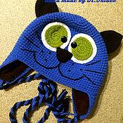 """Работы для детей, ручной работы. Ярмарка Мастеров - ручная работа Шапка """"Непослушный кот"""". Handmade."""
