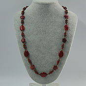 Украшения handmade. Livemaster - original item Beads made from natural stones - Jasper. Handmade.