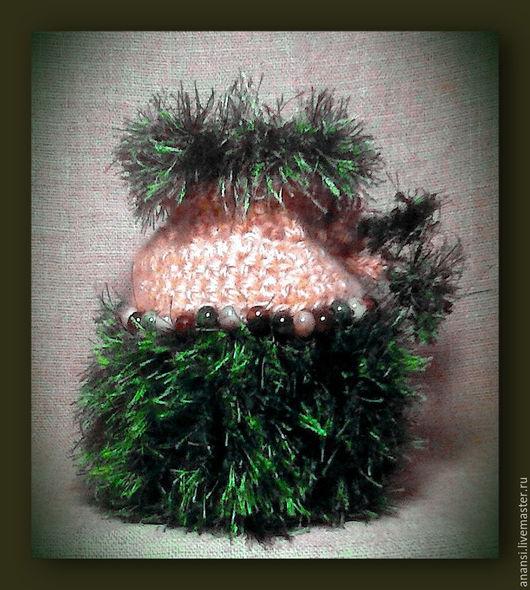 """Гадания ручной работы. Ярмарка Мастеров - ручная работа. Купить Мешочек """"Лесная модница"""". Handmade. Тёмно-зелёный, лесная тема"""